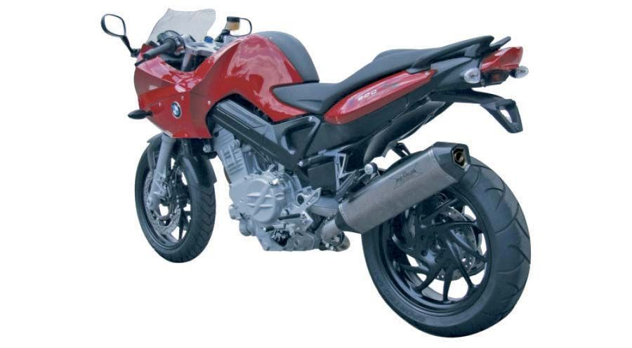 Remus Hexacone Without Convertor For Bmw F800s F800st Motorcycle