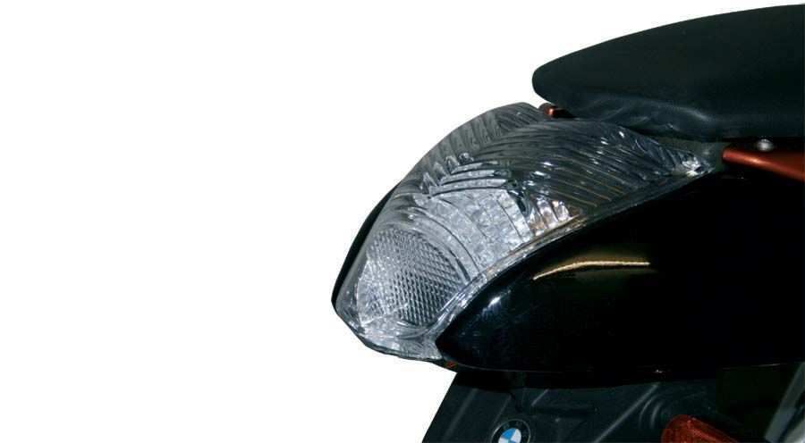 clear tail light for bmw r1200r 2005 2014 motorcycle. Black Bedroom Furniture Sets. Home Design Ideas