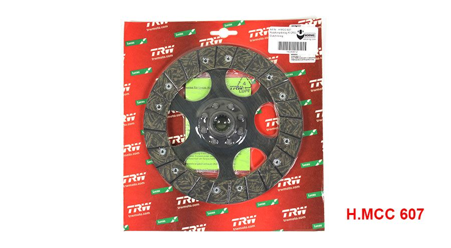 For BMW R 1200 RT ABS 2009 TRW Lucas Clutch Disc