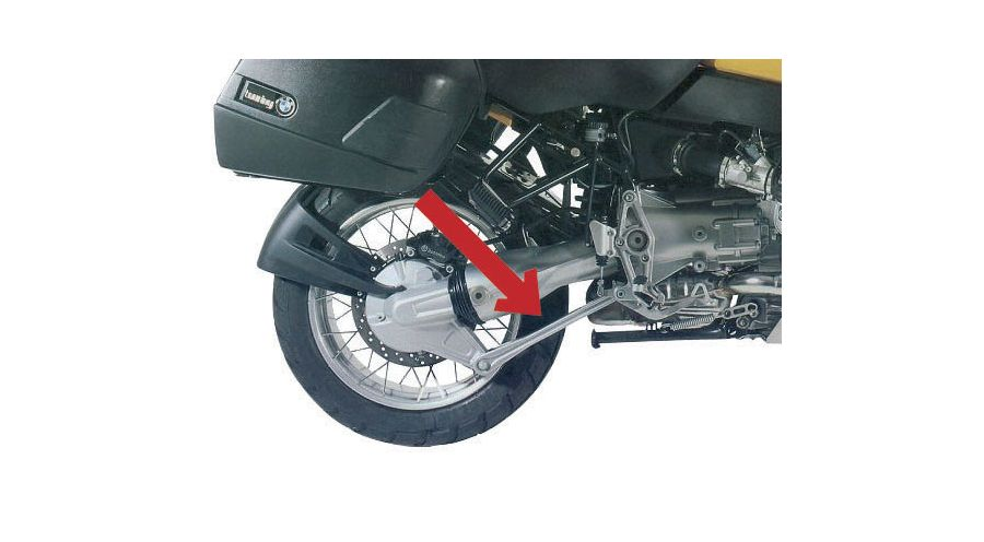 Short Paralever strut for BMW R1100RT, R1150RT