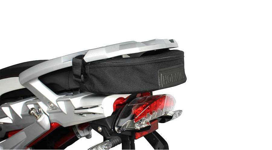 auxiliary bag below the luggage rack for bmw r1200gs 2004. Black Bedroom Furniture Sets. Home Design Ideas