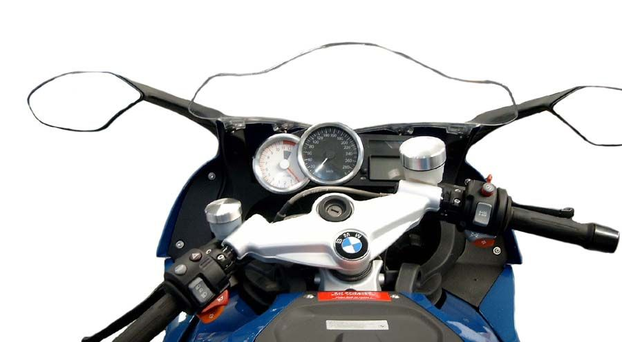 Speedometer Trim For Bmw K1200s Motorcycle Accessory Hornig