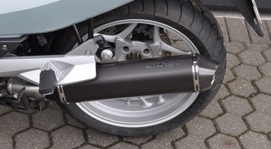 Ac Schnitzer Stealth Exhaust For Bmw R1200rt 2005 2013