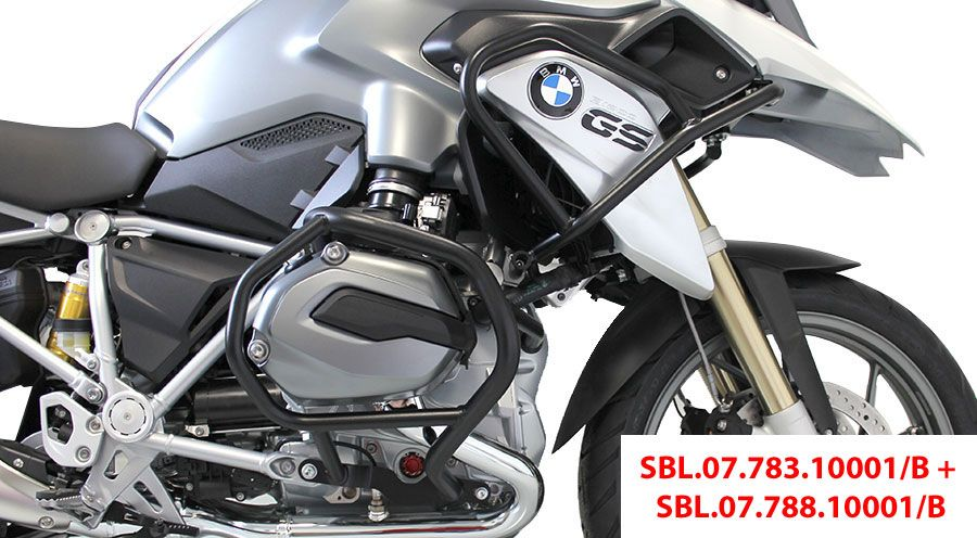 crash bars for bmw r1200gs lc motorcycle accessory hornig. Black Bedroom Furniture Sets. Home Design Ideas