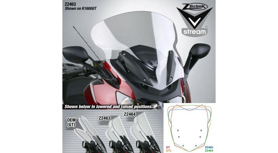 Windscreen VStream for BMW K1600GT & K1600GTL