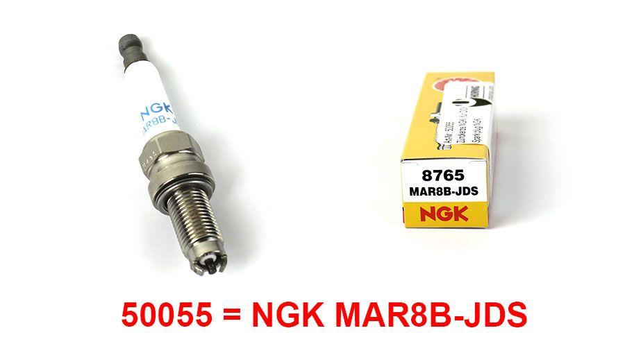 NGK Spark plugs DOHC for BMW R1200GS & R1200GS Adventure DOHC
