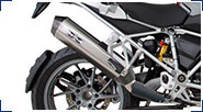 R 1200 GS, LC (2013-) & R 1200 GS Adventure, LC (2014-) Exhausts