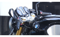RnineT AC Schnitzer handlebar conversion Clip-on