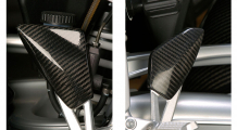 BMW K1300S Heel guards