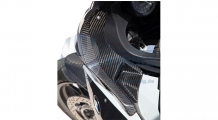 BMW K1300S Carbon Cover near the instruments