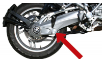 R1200, K1200 & K1300 Axle pivot Cover