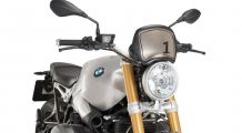 BMW R nine T Retro frontal plate