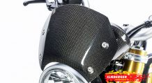 BMW R nine T Carbon Windshield