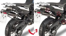BMW F650GS (08-), F700GS & F800GS Side case mounting-Rapid