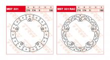 BMW R850GS, R1100GS, R1150GS & Adventure Back brake disc