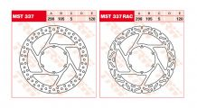 BMW F 650, CS, GS, ST, Dakar Front Brake Discs