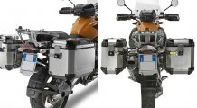 BMW R1200GS, R1200GS Adventure & HP2 Side case mounting for Trekker Outback