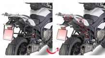 BMW S 1000 XR Side case mounting Dolomiti