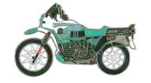 BMW R 100 Model Pin R 100 GS PD (green)
