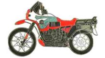 BMW R 100 Model Pin R 100 GS PD (red)
