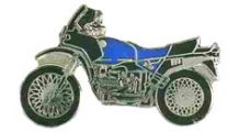 BMW R 100 Model Pin R 80 / 100 GS (blue)