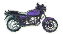 BMW R 100 Model Pin R 100 R (purple)