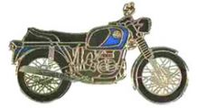 BMW R 100 Model Pin R 75/5 (blue)