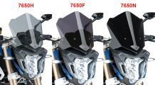 BMW F800R Sport windshield