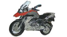 BMW R 1200 GS, LC (2013-) & R 1200 GS Adventure, LC (2014-) Pin R 1200 GS LC (red)