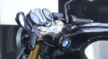 BMW R1200R & RnineT AC Schnitzer handlebar conversion Clip-on