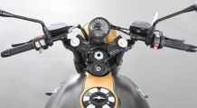 BMW R nine T AC Schnitzer handlebar conversion Clip-on