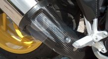 BMW K1200R & K1200R Sport Exhaust cover front