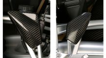 BMW K1300R Heel guards