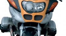 BMW R1100S Oil cooler screens
