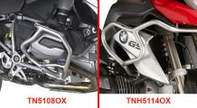 BMW R 1200 GS, LC (2013-) & R 1200 GS Adventure, LC (2014-) Crash bars stainless steel