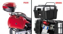 BMW F 650, CS, GS, ST, Dakar Top case mounting