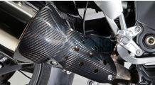 BMW K1300S Carbon Exhaust Protector