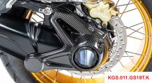 BMW R 1250 GS & R 1250 GS Adventure Carbon Cardan Housing Protection (Mounting with rear mudguard)