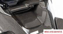 BMW R 1250 GS & R 1250 GS Adventure Carbon air intake under the oil cooler