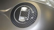BMW R 1200 RT, LC (2014-) Petrol Cap Pad 3D Carbon Look