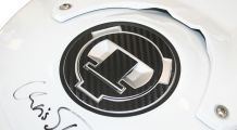BMW G 650 GS Petrol-Cap-Pad 3D-CarbonLook