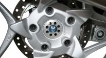 BMW K1300S Rear wheel centre cover