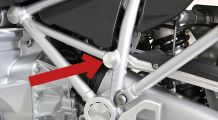 BMW R 1200 R, LC (2015-) Frame cover left