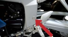 BMW K1300S Frame Cover