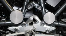 BMW R 1200 R, LC (2015-) Swing arm pivot covers