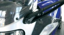 BMW R1100S Mirror Extensions