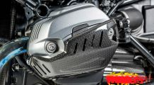 BMW R nine T Carbon Rocker Cover left