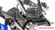BMW R 1250 GS & R 1250 GS Adventure Carbon Wind Protector at instruments