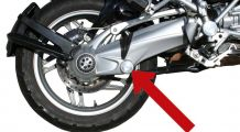 BMW K1200GT (06-) Axle pivot cover