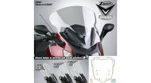 BMW K1600GT & K1600GTL Windscreen VStream